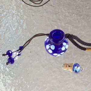 Jewelry - Cremation necklace for a pet or person New!
